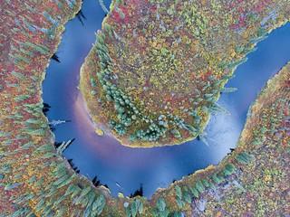 Above Arctic Alaska