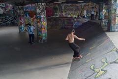 Urban Skate Park, South Bank London (andrewyeoh969) Tags: skate board south bank urban graffiti playground fun space