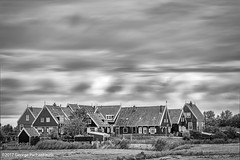 Dutch landscape in long exposure (George Pachantouris) Tags: marken blackandwhite black white monochrome long exposure nd400