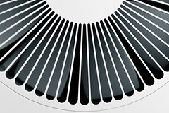 Fan ~ 262/365 2017 (joriks) Tags: 2017 365 fan xiaomi air purifier blade blades blackwhite blackandwhite monochrome dark light lines round circle bright