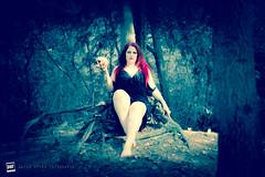 Dark Enchantress (David Otten Fotografie) Tags: 50mm18d brabant d610 enchantress gothic magic nld necromancer nederland netherlands nikkor nikon nikond610 nikontop skull speedlight voodoo davidottenfotografie dof photoshop picoftheday sb700 visitbrabant