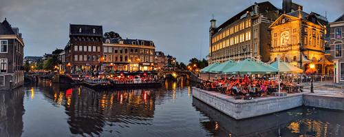 Leiden in the evening