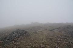 DSC_9392 (nic0704) Tags: scotland hiking walking climbing summit highlands outdoor landscape hill mountain foothill peak mountainside cairn munro mountains skye isle island cuilin cuillin blaven blà bheinn red black elgol