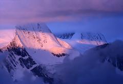 Cloudy morning in the Swiss Alps (forty years ago) (giorgiorodano46) Tags: settembre1977 september 1977 giorgiorodano analogic arolla bertol morning clouds mattino nuvole montagna nountain alps alpi alpe alpen vallese valais wallis svizzera suisse switzerland schweiz