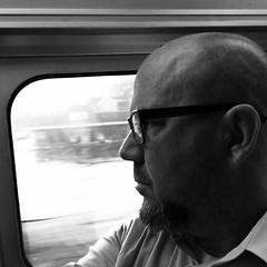 Moody commute.