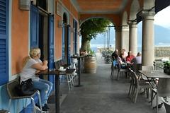 Luino, il Caffè Clerici, sul Lago Maggiore (Valerio_D) Tags: luino lagomaggiore verbano lombardia italia italy caffèclerici pierochiara 2017estate 1001nights 1001nightsmagiccity ruby3 ruby10