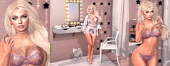 L085 (JoJo Delvalle) Tags: secondlife lingerie pink game cute