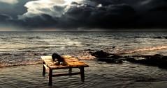 The nature always wins... (smithjuha440) Tags: licht wasser tisch würfel spiel photoshop sons wolken