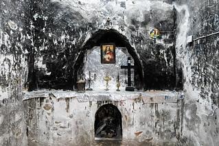 Inside an old church near Koya / Iraqi Kurdistan