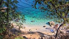 Beach at Kassiopi, Corfu. (Tui_Cruise) Tags: corfu mediterranian ionian greekisland beach kassiopi