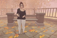 #904 (AddisonLynnRose Resident) Tags: second life sl virtual photography autumn fall fashion magika lelutka maitreya bento 7 deadly skins 7ds ten penny epoch suicide dollz blueberry reign play pose