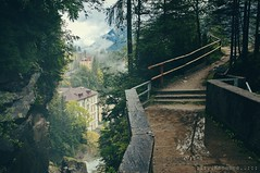 look outside (Knee Bee) Tags: badgastein rawness waterfall wasserfall stunning