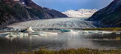 Spencer Glacier (Traylor Photography) Tags: ancient spencerglacier landscape nature snow mountains lake portage glacier alaska panorama anchorage unitedstates us