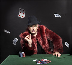 Send Them Flying (Gary Stamp cPAGB) Tags: poker canon studio studiovisage portrait