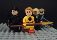Legion of Doom (MrKjito) Tags: lego super hero minifig villains legion doom malcom merlyn eobard thawne damian darhk leonard snart dark archer reverse flash captain cold cw legends tomorrow custom spear destiny