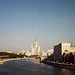 «Sunny day of August on the Moskva River»