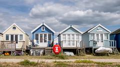 Mudeford Beach Huts (Matthew_Hartley) Tags: beachhuts beach huts hut mudeford spit dorset england uk britain panasonic gm1 microfourthirds m43 vario 1232 1232mm