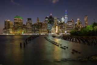 Manhattan Skyline @ Night