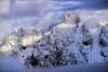 A PEEK AT THE PEEKS (Aspenbreeze) Tags: mountains tetonmountainrange tetons tetonnationalpark nationalpark nature snow peaks snowcappedpeaks wyominglandscape winter bevzuerlein aspenbreeze moonandbackphotography