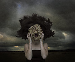 Silent Scream (loulou_alexander) Tags: silent scream rope face stress anger hidden mask inside repressed enough limit claw mouth teeth desperate death love life gaping chasm hole darkness