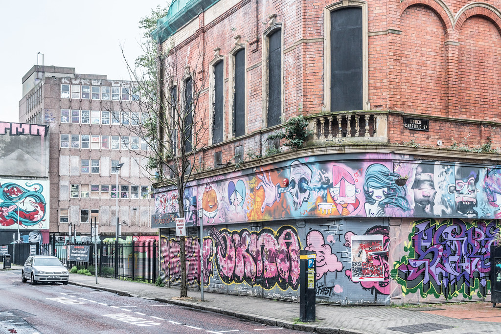EXAMPLES OF URBAN CULTURE IN BELFAST [STREET ART AND GRAFFITI]-132951