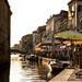 Summer Street Life in Venice, Italy