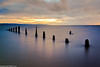 Caldy sunset-4 (andyyoung37) Tags: caldy merseyside oldposts seascape uk sunset thewirral waves