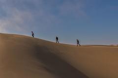 On The Skyline (gecko47) Tags: dune sanddune sandwichharbour namibnaukluftpark atlanticcoast shadows sky coast skyline silhouette windblown curves smooth figures explore