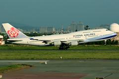 China Airlines   Boeing 747-400   B-18210   Taipei Taoyuan (Dennis HKG) Tags: chinaairlines cal ci taiwan dynasty boeing 747 747400 boeing747 boeing747400 aircraft airplane airport plane planespotting taipei taoyuan rctp tpe b18210 skyteam canon 7d 100400