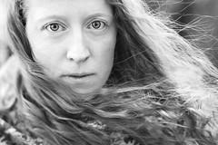 norse (Jenny Theobald) Tags: portrait portraitphotography blackandwhite monochrome beauty norse fair hair eyes close closeup intense wind winter woman