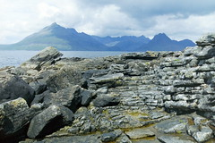 Rock, Loch and Mountains (Rail and Landscapes) Tags: elgol isleofskye