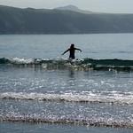 Pembrokeshire Coast Path - July 2017 - Abereiddy Beach - Braving the Surf thumbnail