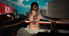 Street-Life (__ Mariah1Moon __) Tags: second life secondlife sl m1m savoir faire look fashion street urban hashtag sam tattoos graffiti kom foxy