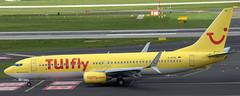 Boeing 737-8K5 D-ATUL (707-348C) Tags: dusseldorfairport tuifly airliner jetliner boeing boeing737 tui b738 dusseldorf eddl dus passenger datul
