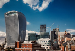 City on a hill (Мaistora) Tags: london england unitedkingdom gb city financialdistrict squaremile thecity offices buildings architecture finance banks exchange market insurance investment money capital assets wealth old traditional historic modern contemporary futuristic eclectic mix harmony chaos tower plaza skyscraper walkietalkie 20fenchurch skygardens skyline sky clouds blue white red colour color colourful view sight vista panoramic stage hill uphill upward skyward mobile phone samsung galaxy s7 android lightroom dxo optics topaz nik