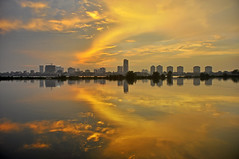 _DSC0168 (ngocnta.1311) Tags: sunset landscape vietnamlandscape lakeview