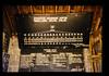 A Board Of Irrigation Association Organization Chart In A Village Meeting Place = 村の集会場の水利組合組織図 (JIRCAS) Tags: 適正農業機械技術開発センター インドネシア バリ 農業工学 生活(風俗・習慣) 農業経営 bali subak indonesia
