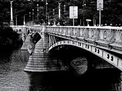 Bridge (in Explore) (Zsofia Nagy) Tags: 7daysofshooting week4 bridges texturetuesday praha prague prága bridge czech czechrepublic river híd