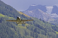 LSTS: Private (Historical) De Havilland DH-115 Vampire T55 U-1228 (SwissAirForce) HB-RVJ (Roland C.) Tags: swissairforce lsts airport dehavilland vampire dh115 u1228 hbrvj switzerland airplane aircraft