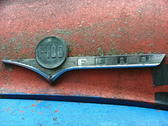 F100 FORD (jHc__johart) Tags: crusty f100ford truck emblem missouri