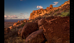 An Uphill Struggle (Whitney Lake) Tags: explored 75 texas bigbendnationalpark dusk sky earth mountain rock grapevinehills goldenhour