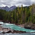 While Everyone Else Was Looking Upstream to Natural Bridge... (Yoho National Park) thumbnail