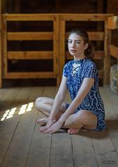Portrait of a Young Woman (oshcan) Tags: portrait model woman girl batsto nikon d4s 85mm14 summer