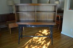 DSC_0001 (blueintuit) Tags: midcenturymodern mcm barcabinet vintage wicker rattan mahogany
