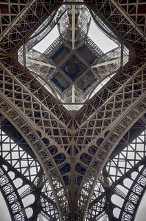 Eiffel tower, a different pov
