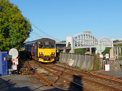 150129 Saltash (Marky7890) Tags: gwr 150129 class150 sprinter 2c51 saltash railway cornwall cornishmainline train