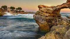 Enjoy the Silence (George Nutulescu) Tags: sky sea seascape egee mediterane mediterana clif harbour vawe beach nikon longexposure travel greece crete drama