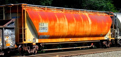 AEX 20963 (timetomakethepasta) Tags: aex grainer rusted out freight train photography selkirk new york trains upstate golden rust setup