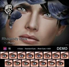 MESANGE - Rhapsody Eyes for  HME (MESANGE.) Tags: secondlife sl mesange eyes mesheyes unisex omega appliers cosmetics roleplay fantasy event hipstermenevent hme