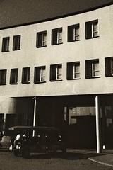 Ingresso della fabbrica di Schindler, Cracovia-Polonia.Schindler factory entrance to Krakow, Poland. (Livio Saule) Tags: polonia cracovia monochrome monocromo viaggio travel architettura